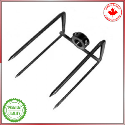 4 prong clamp for Baviator spit roaster