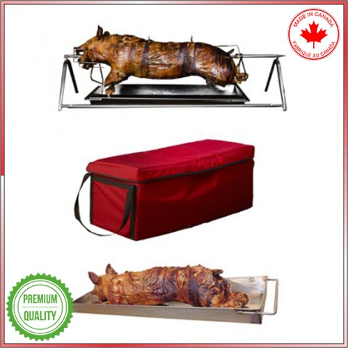 Catering-Essentials carving stand + carrying bag and handled transport tray