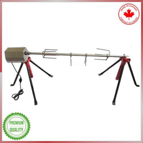 Baviator charcoal spit roaster