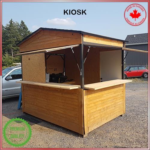 A Baviator Bar Kiosk for rent