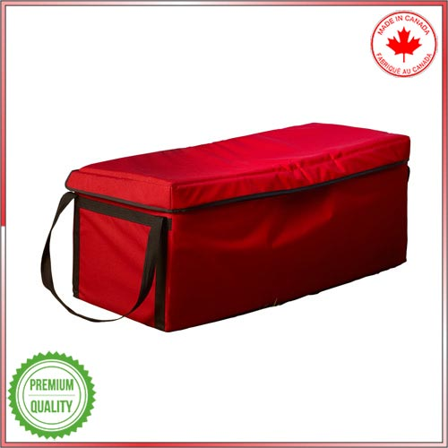 Thermal protection Baviator carrying bag to keep food cold or hot.