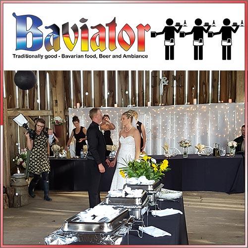 baviator wedding catering